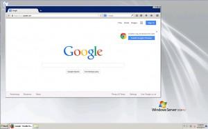 Windows 2008 VPS Screenshot