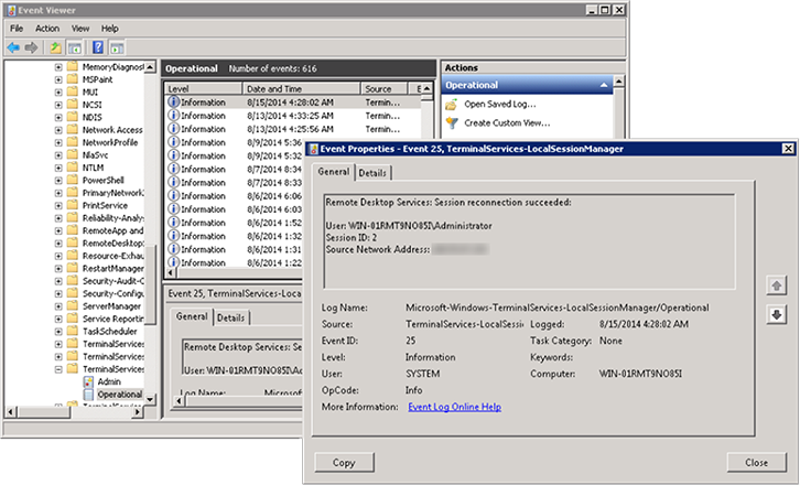 How to] View RDP Access Log IP Addresses in Windows VPS | SolVPS