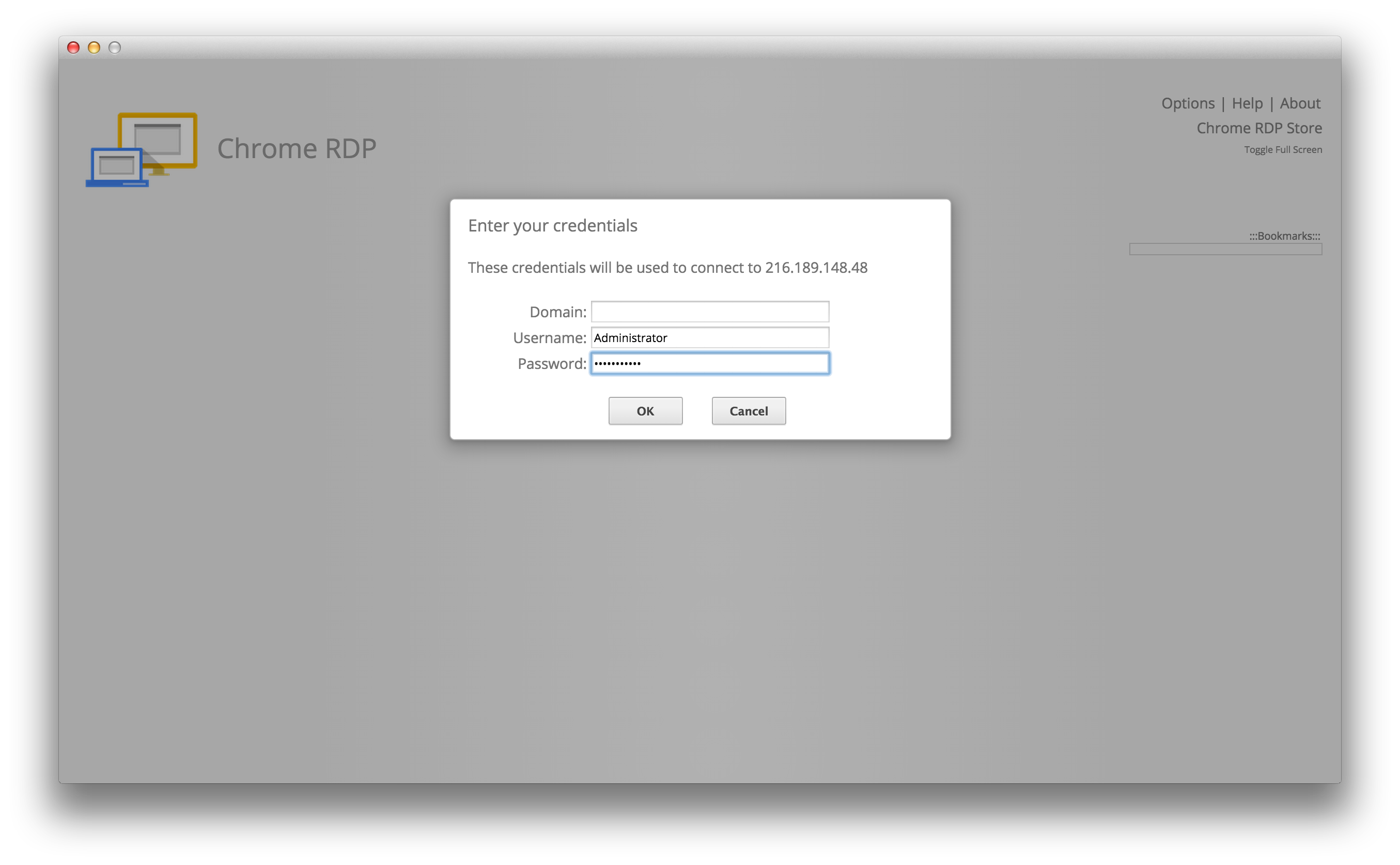 Connect to Remote Desktop (RDP) in Chrome or Chrome OS | SolVPS ...