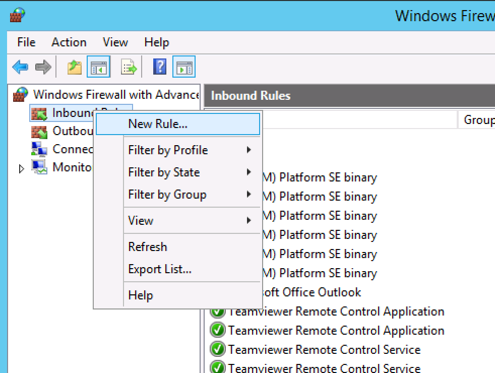How to: Open Ports on Windows Server (VPS or Dedicated