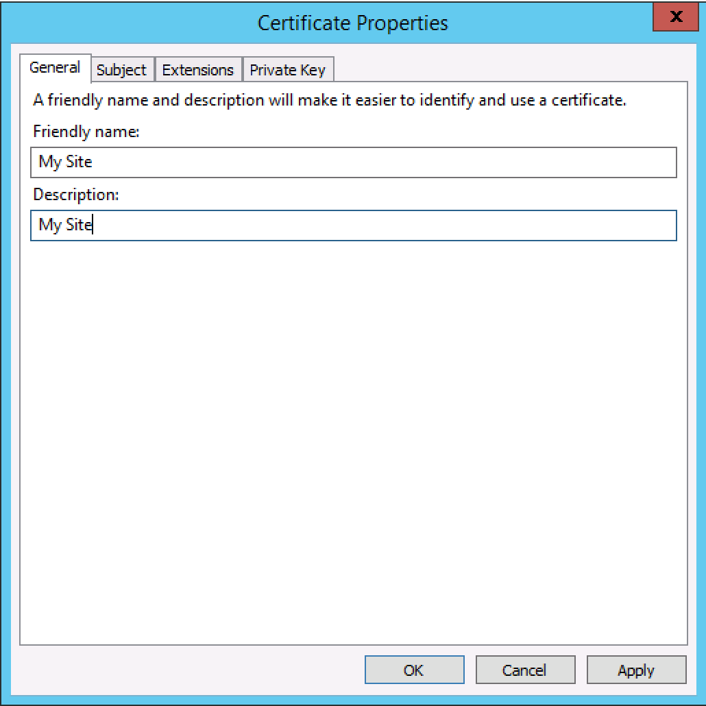 Generate a csr on windows server 2012 or 2008 for a ssl screen shot 2015 08 25 at 70656 pm xflitez Image collections