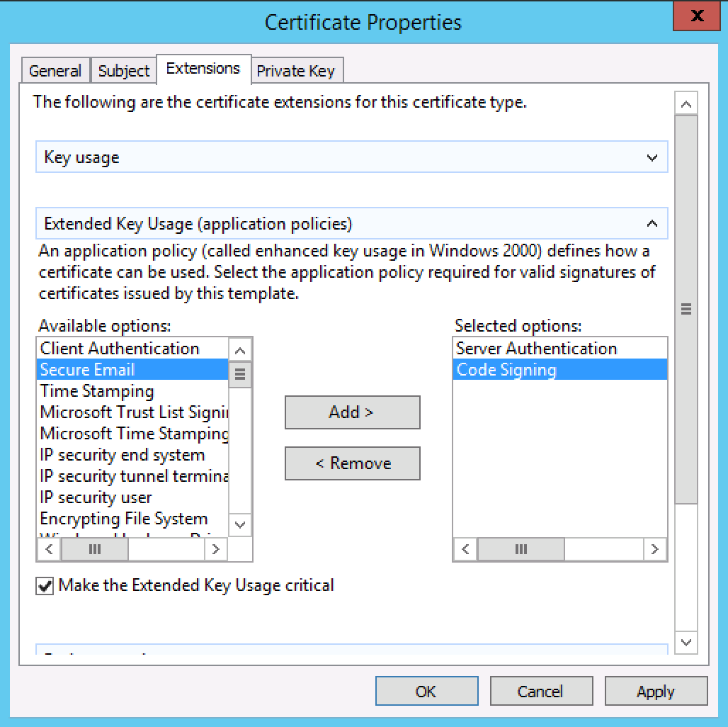 Generate a csr on windows server 2012 or 2008 for a ssl screen shot 2015 08 25 at 70946 pm xflitez Image collections
