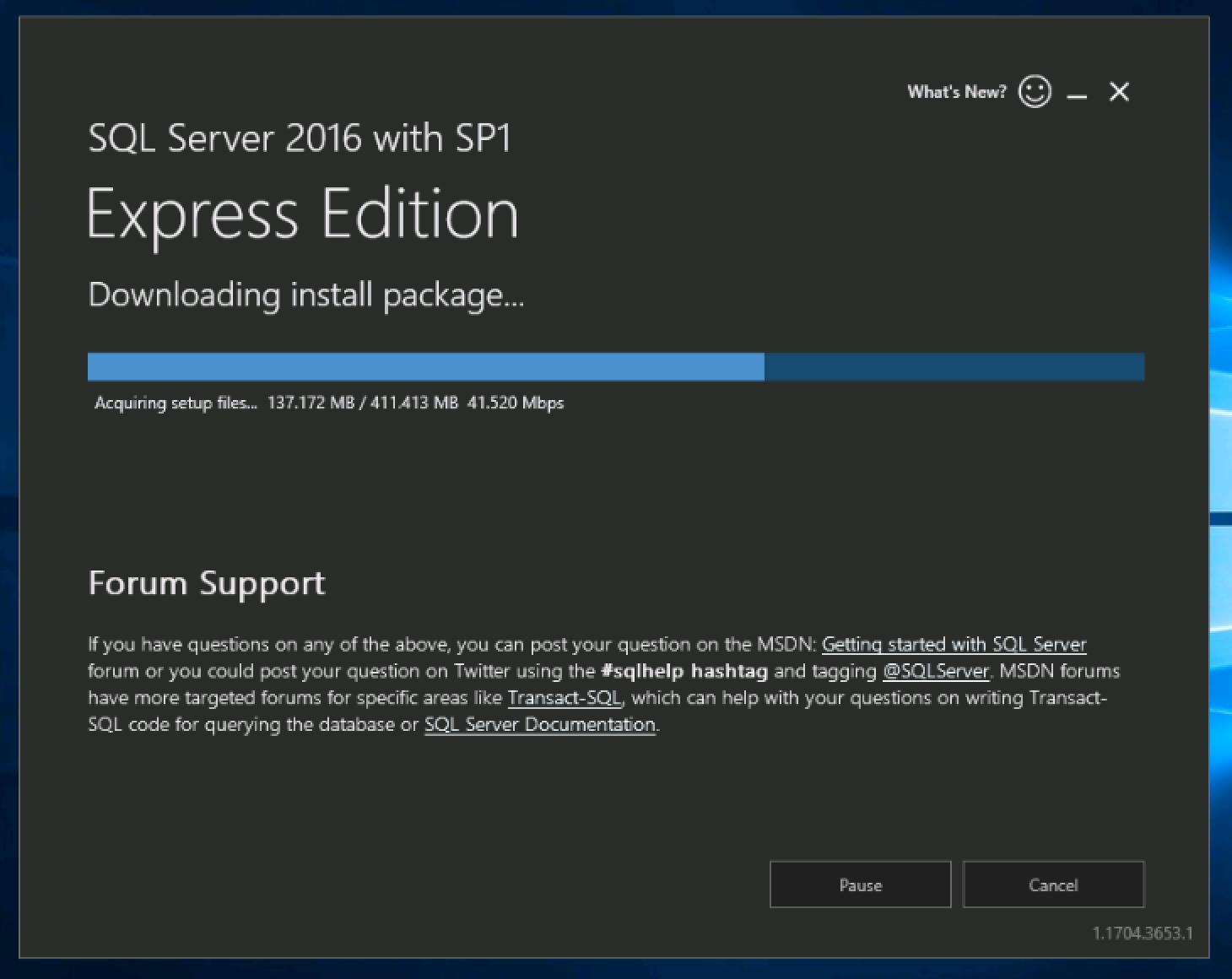 Installing MS SQL Server Express on Windows VPS or Server