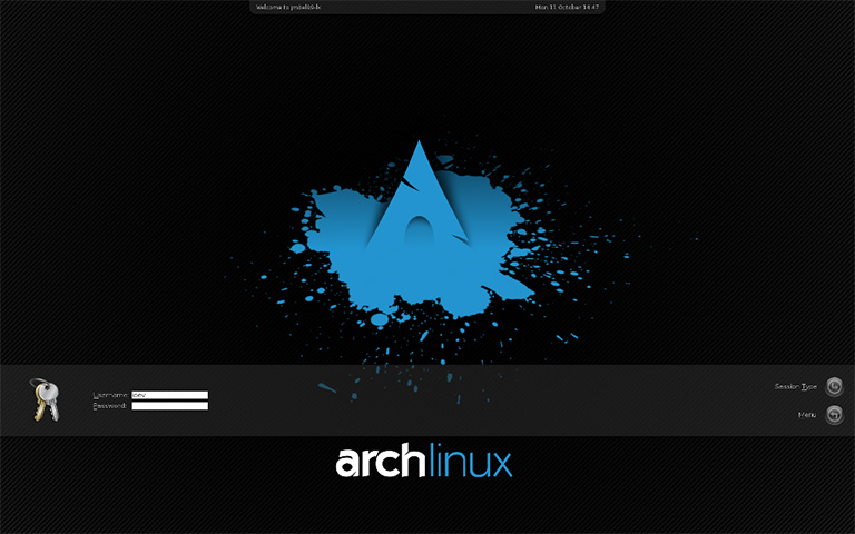 archlinux Screenshot