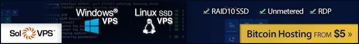 SolVPS Bitcoin VPS Hosting