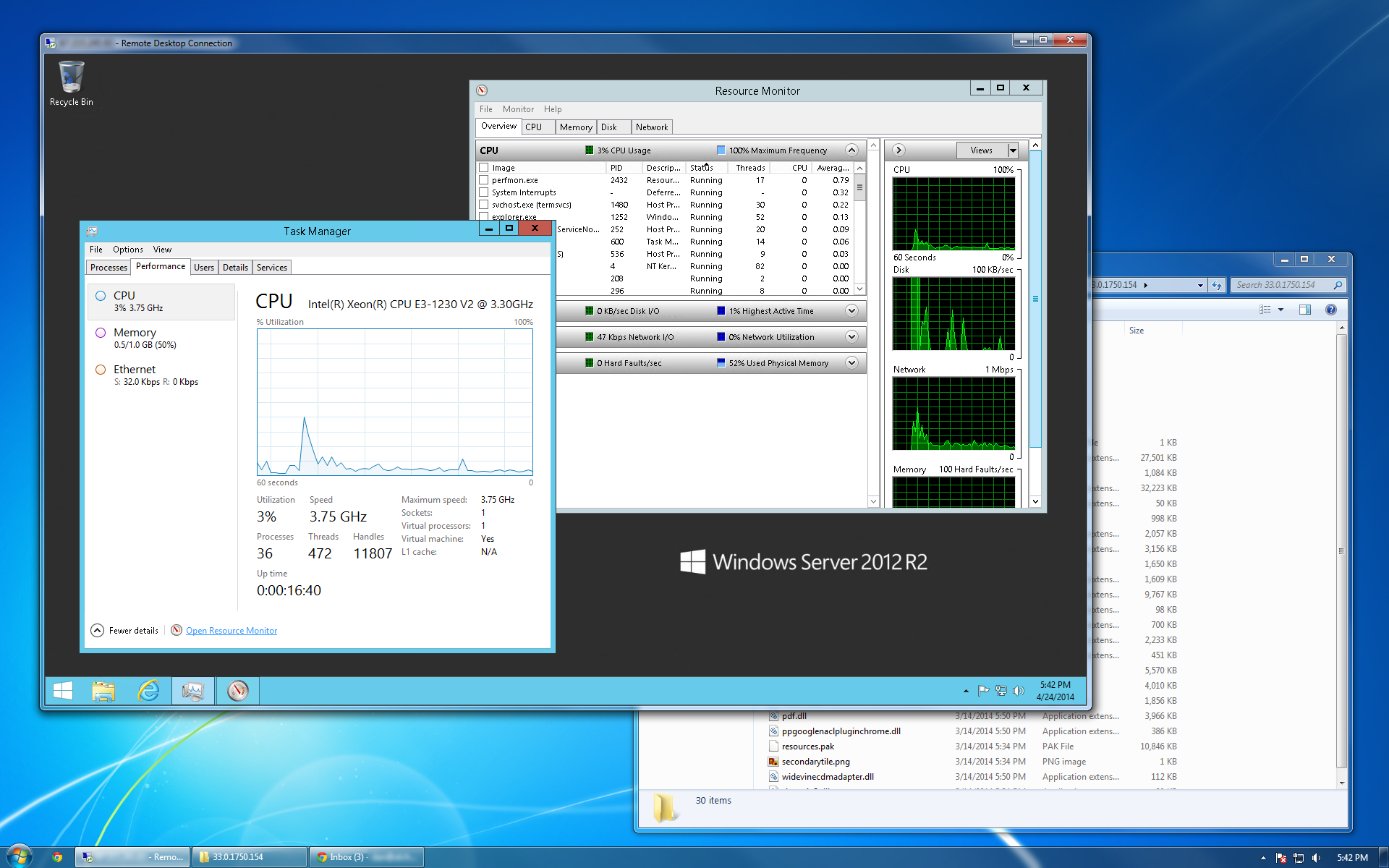 Windows Server Screenshot